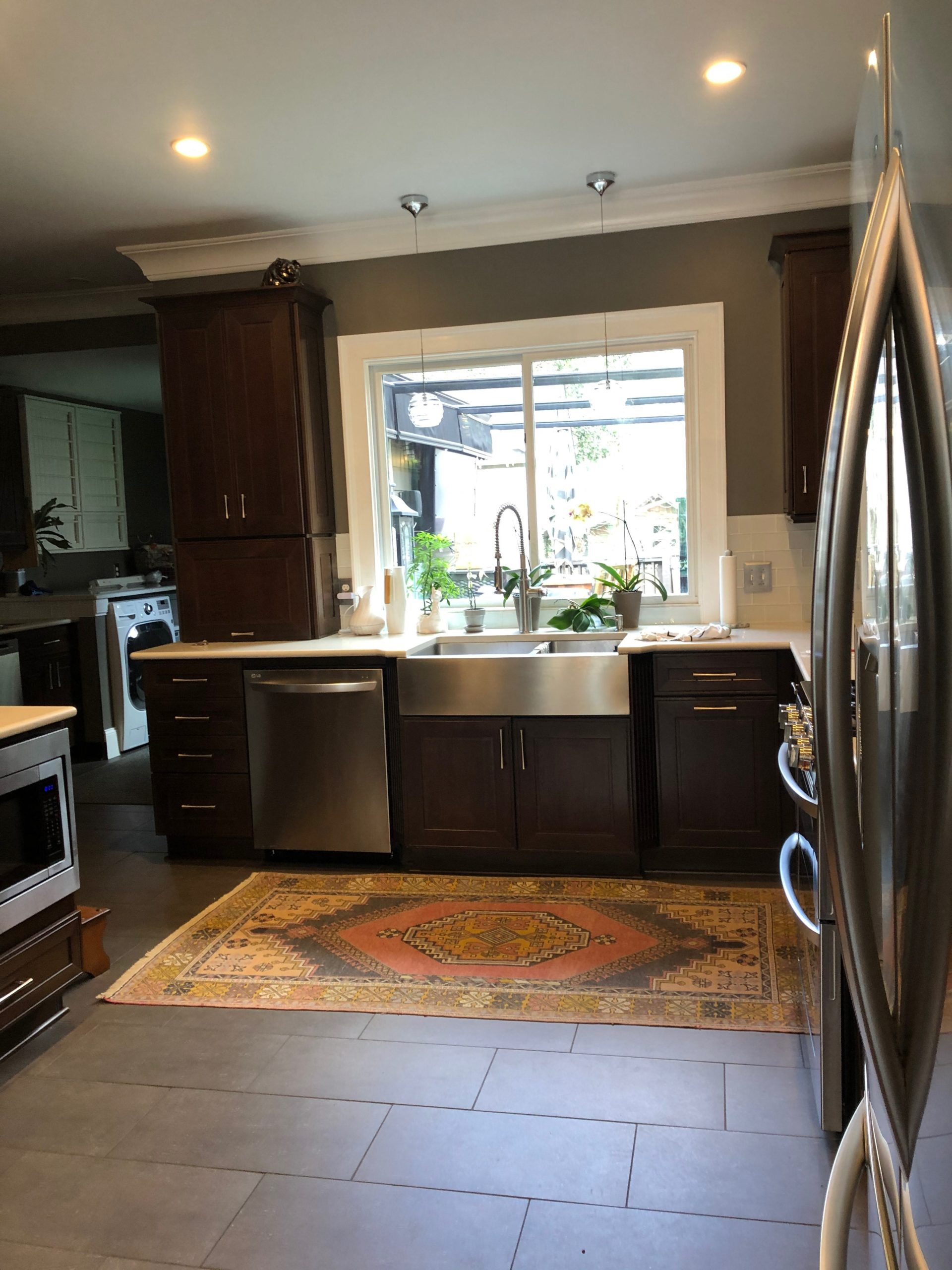 Finished kitchen remodel in Sandy Springs GA