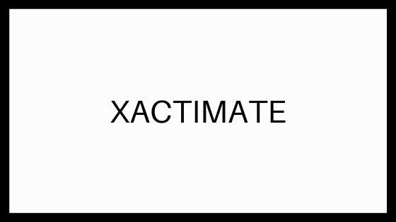 Xactimate Insurance Repair