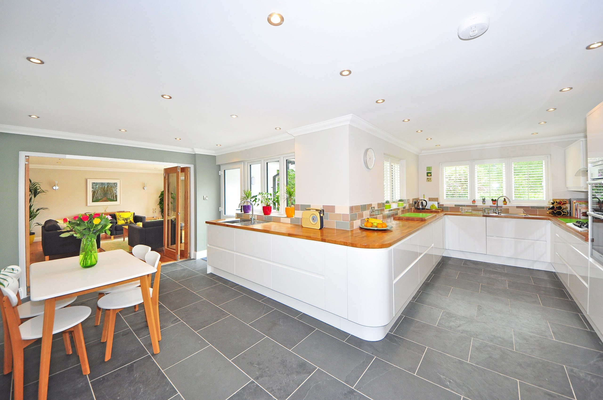 Best selling floor types in a kitchen
