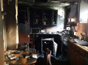 After a home fire, RCR can help with necessary demolition