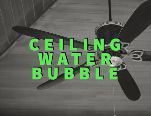 Ceiling Water Bubble: 3 Simple Steps Before Pros Arrive!