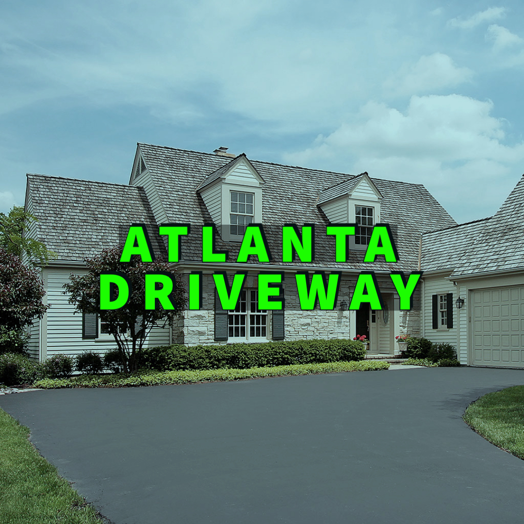 Atlanta driveway written over residential property