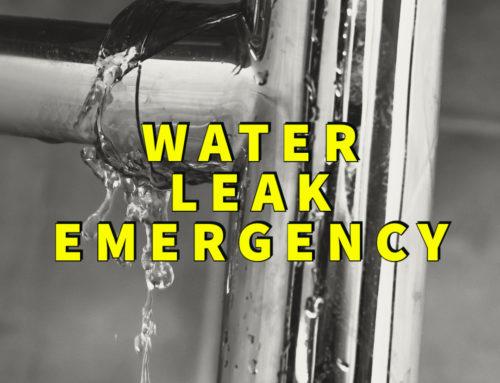 Water Leak Emergency? 3 Tips For Handling The Disaster